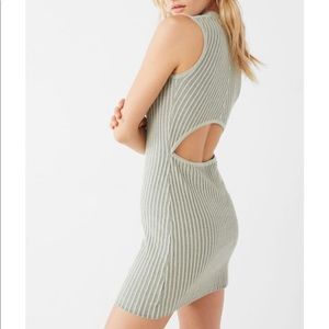 Urban Outfitters Ribbed Bodycon Sweater Dress